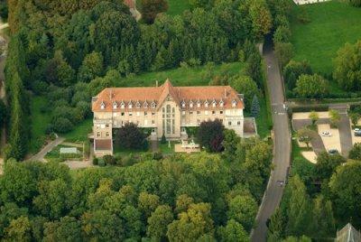 Monastère de la Visitation vue du ciel