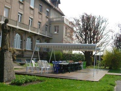 Les jardins du Monastère - la terrasse