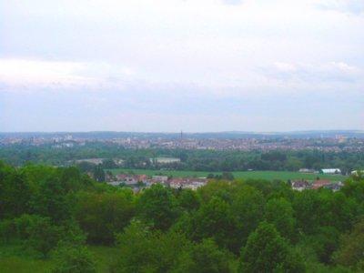 Vue du Monastère sur la vallée de la Moselle