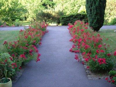 Les jardins du Monastère - la promenade