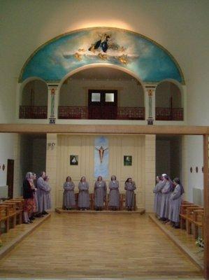 Prière en la chapelle
